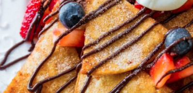 Evde kolay waffle tarifi
