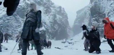 Game Of Thrones'un muhteşem kamera arkası görüntüleri