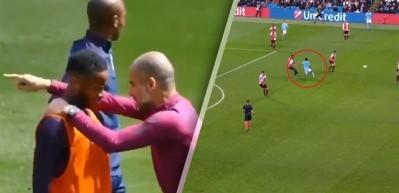 Guardiola'nın antrenmanda verdiği taktik böyle gol oldu!