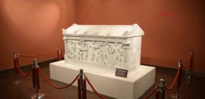 Herakles Lahiti, strafor kopyasının yerinde sergilenecek