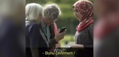 Hollandalıların müslüman kadına verdikleri tepki sosyal medyayı salladı