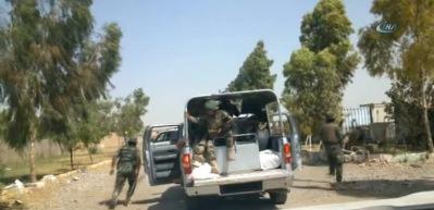 Irak Ordusu stratejik öneme sahip Keyvan üssünü ele geçirdi