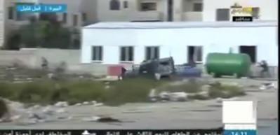 İsrail askeri araçları çocukları eziyor!