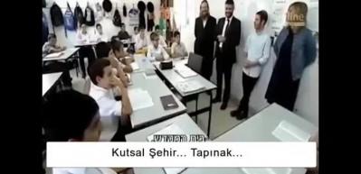 İsrail'de okullarda 'Mescid-i Aksa'yı yıkacağız' dersi