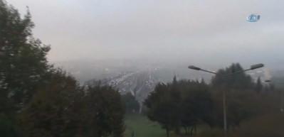 İstanbul'da hayran bırakan manzara!