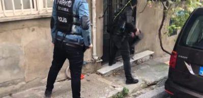 İstanbul'da zehir tacirlerine narkotik operasyonu