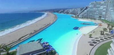 İşte dünyanın en büyük havuzu