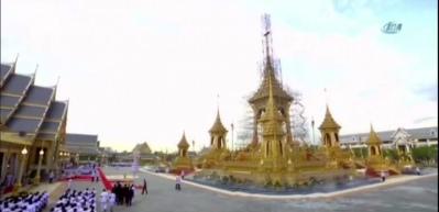 İşte Tayland Kralının yakılacağı saray