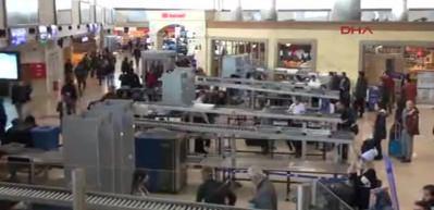 Kaçak yolcunun faturası güvenlikçilere kesildi