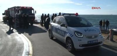 Kadıköy'de denizden ceset çıktı