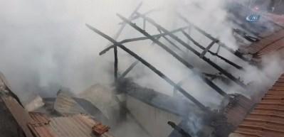 Karabük'te ev yangını