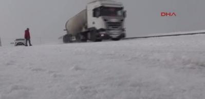 Kars'taki okullara kar tatili