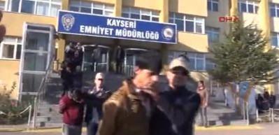 Kayseri'de yakalanan DEAŞ infazcısı adliyede
