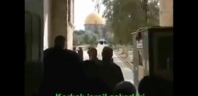 İşte korkak İsrail askerleri!