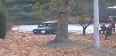 Kuzey Kore'den Güney Kore'ye kaçan asker böyle vuruldu!