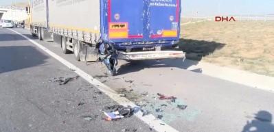 Kuzey Marmara Otoyolu'nda kaza : 2 ölü