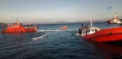 Lodos tekne batırdı!