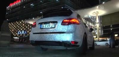 Lüks otomobile 1 milyon kristal taş