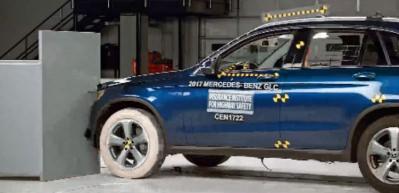 Mercedes Benz GLC kaza testi