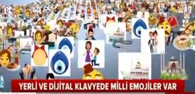 Milli emojiler milli klavyeyle kullanıma girdi!