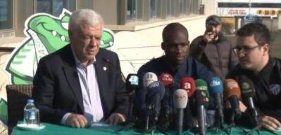 Moussa Sow, Bursaspor'a imzayı attı