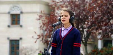 Öğrenciler, Şehit Aybüke Öğretmen'i unutmadı