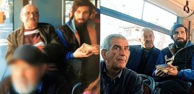Otobüste Kur'an okuyan gence büyük tepki!