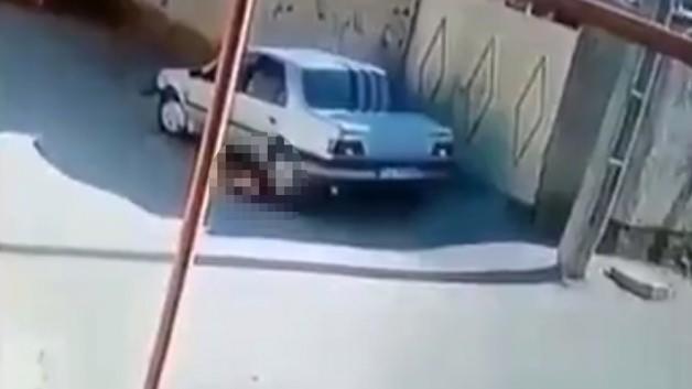 Aracıyla çocuğunu ezdi!