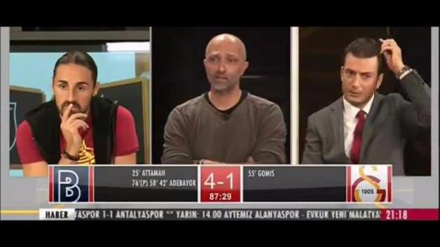 Başakşehir'in 5. golünden sonra GS TV!