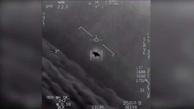Pentagon'un gizli UFO görüntüleri yayınlandı!