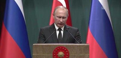 Putin'den Erdoğan'ın yanında ABD'ye Kudüs mesajı