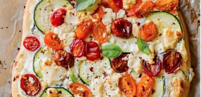Sebzeli pizza tarifi