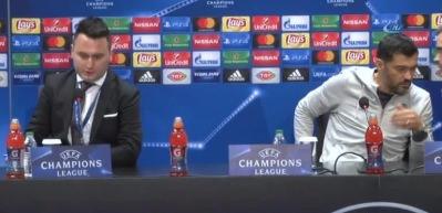 """Sergio Conceiçao: """"Çok güçlü bir takıma karşı oynadık"""""""