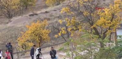 Sonbahar, Kapadokya'nın gezi mevsimi