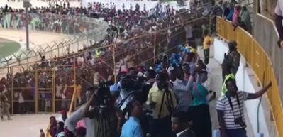 Stadyumu 'Erdoğan' sloganıyla inlettiler