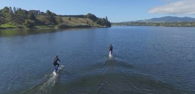 Su üzerinde kullanılan harika bisiklet: Manta5