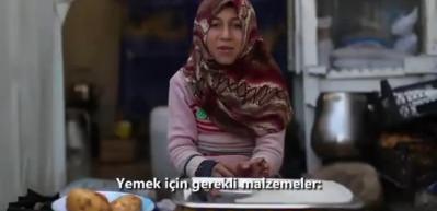 Suriyeli Hatice'den mülteci kampında yapılan yemeğin tarifi