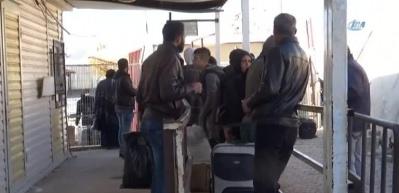 Suriyeliler ülkelerine geri dönüyor