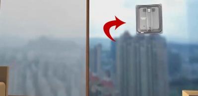 Teknolojide son nokta! Camları artık robotlar temizleyecek