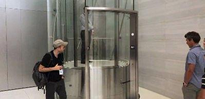 Teknolojinin son harikası dönen asansör