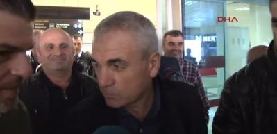 Trabzonspor'un prensipte anlaştığı teknik direktör Çalımbay Trabzon'a geldi