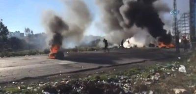 Trump'ın Kudüs kararına Filistin'de tepki eylemleri: Onlarca yaralı