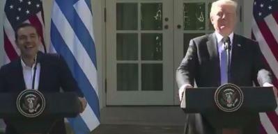 Trump'la görüşen Çipras Türkiye'ye akıl verdi