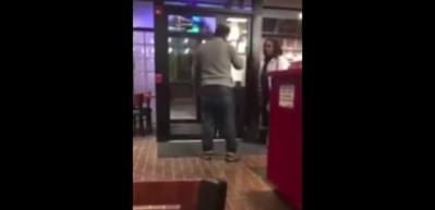Türk işletmeci kadın müşteriye böyle saldırdı!