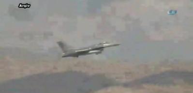 Türk savaş uçakları Kuzey Irak'ı vurdu!