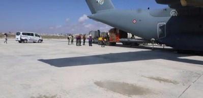 Türkiye'den Somali'ye yardımlar ulaştı