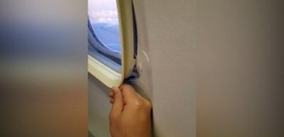 Uçakta şoke eden görüntü!