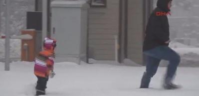 Uludağ'da kar kalınlığı 45 santimetreye ulaştı