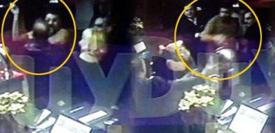 Ünlü oyuncu ve eşine saldırının görüntüleri çıktı!