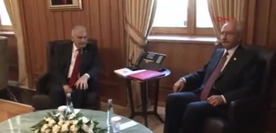 Yıldırım ve Kılıçdaroğlu görüştü